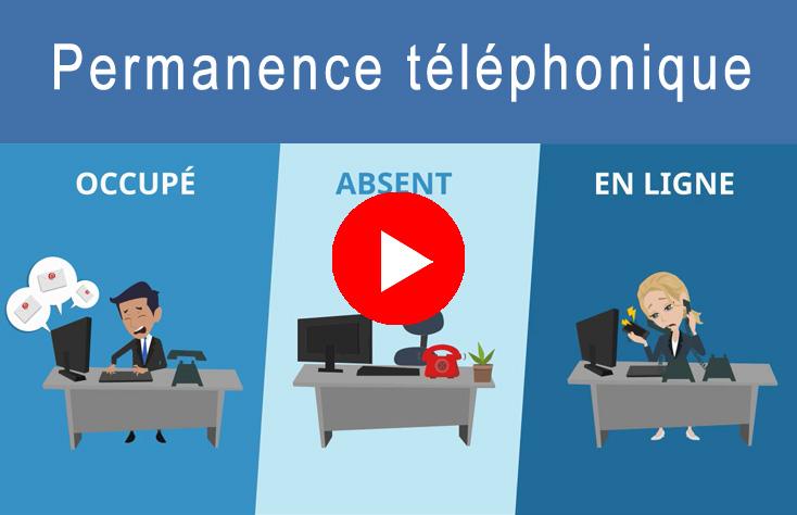 Découvrez en vidéo notre service de permanence téléphonique pour les professionnels